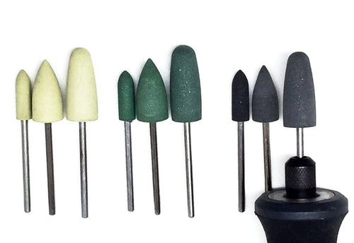Diamond Polisher Bullet Set (9 pieces)