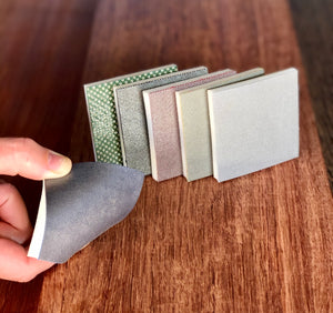 "NEW! ""FDP2"" is the COMPLETE ASSORTMENT set of all Six Flexible Diamond Sanding Pads, Square Corner ($210 when purchased separately"