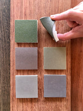 "NEW! ""FDP2"" is the COMPLETE ASSORTMENT set of all Six Flexible Diamond Sanding Pads, Square Corner"