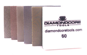 NEW! Flexible Diamond Pads, Square Corners (Sold Separately)