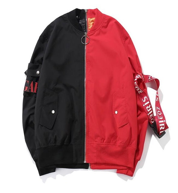 Hip hop 2 Colors Bomber Jackets