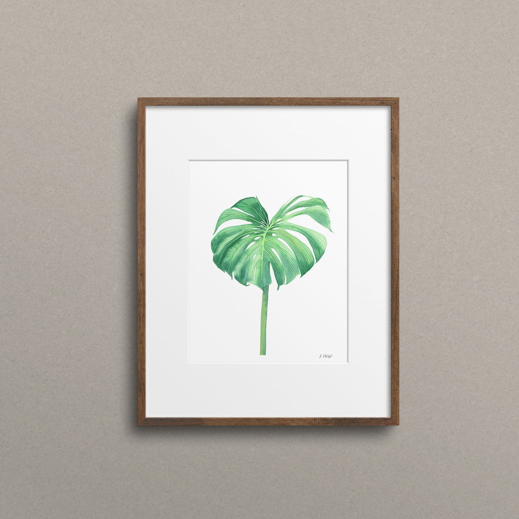 Jungle Monstera - K. Paige Art