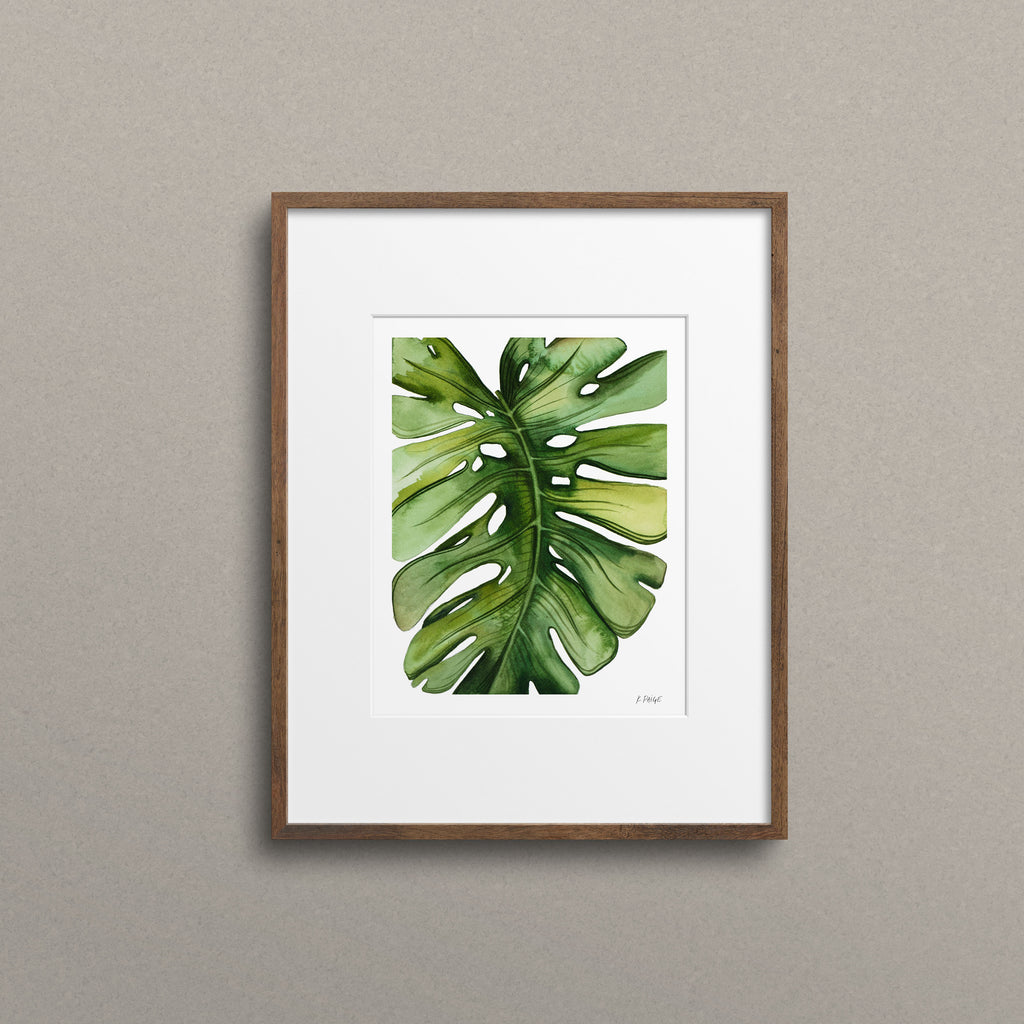 Over Edge Monstera - K. Paige Art