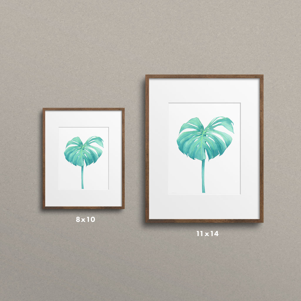 Sea Monstera - K. Paige Art