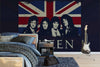 Queen - Union Flag Mural