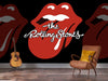 The Rolling Stones - Tongue Mural