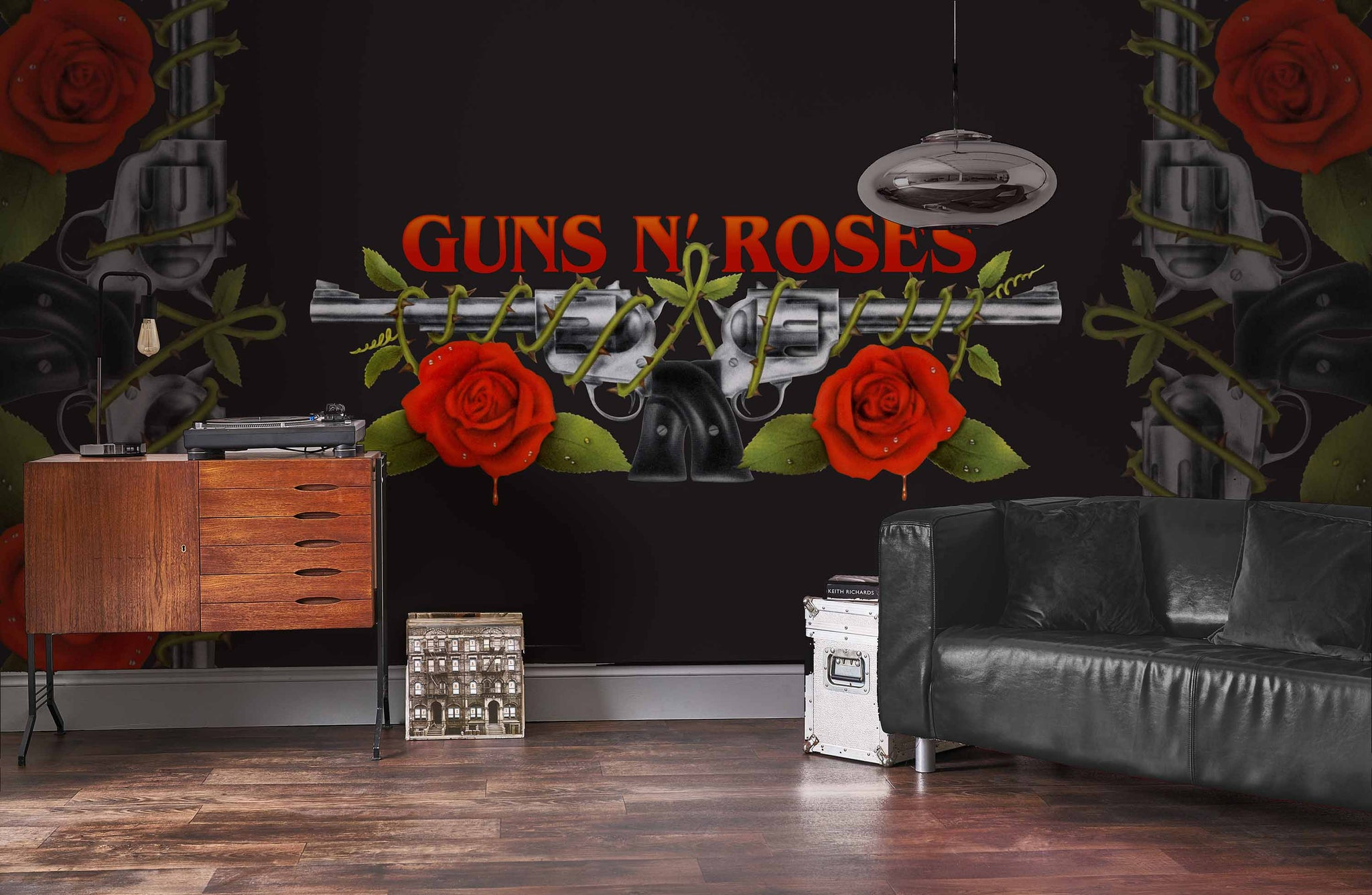 Guns N Roses Logo Mural Rock Roll Limited