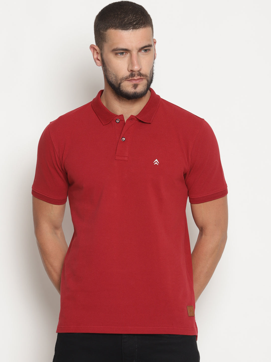 Men's Double Tuck Pique Indian Summer Polo T-Shirt