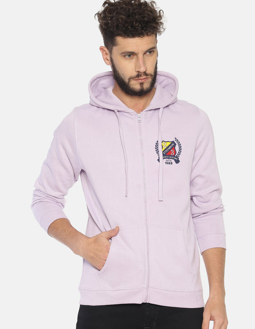 Steenbok Men's Lilac Hooded Sweatshirt