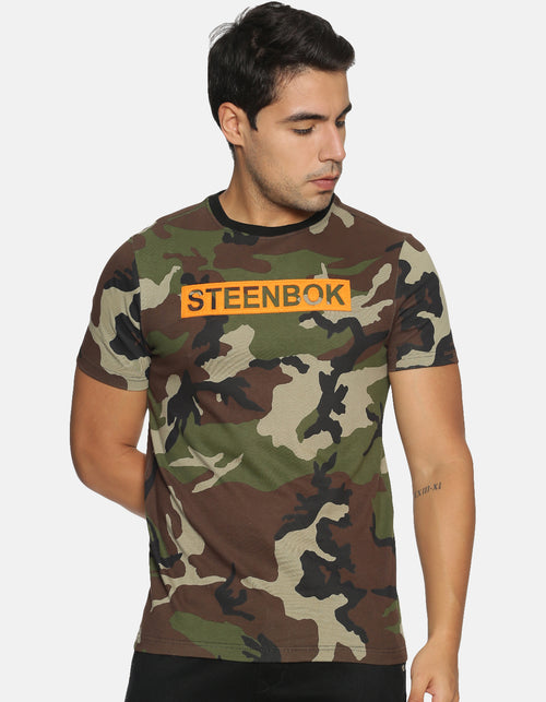 Men's Camo Printed T-shirt
