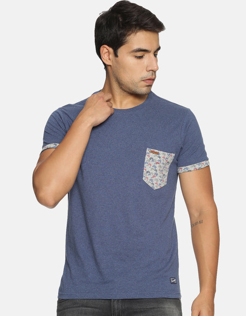 Men's Printed Pocket T-shirt