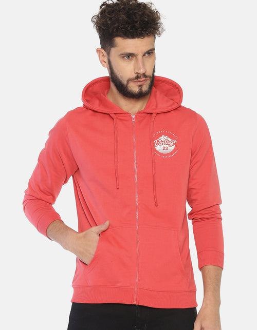 Steenbok Men's Red Hooded Sweatshirt
