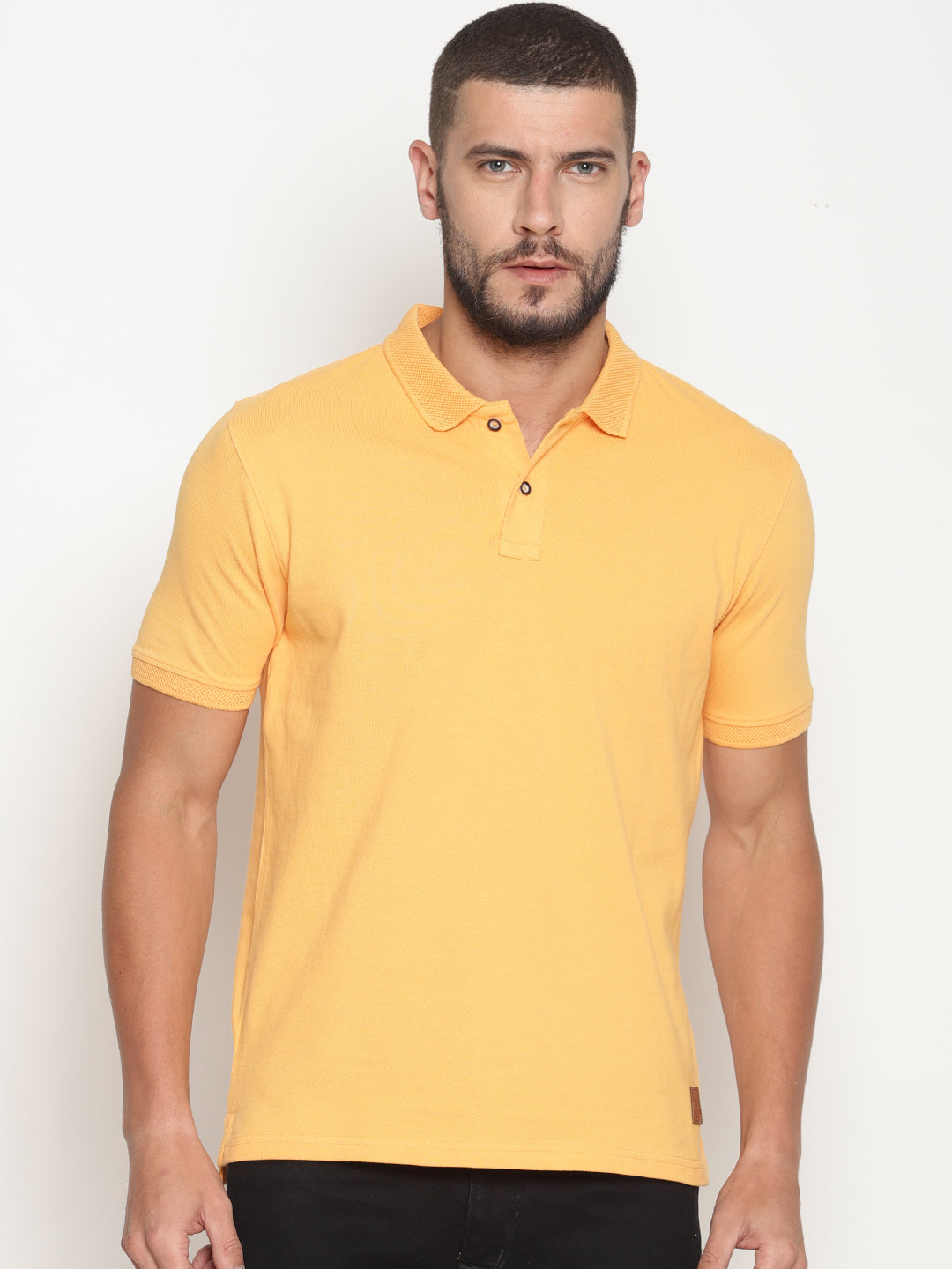 Men's  Warm Apricot Pastel Edition Polo T-Shirt