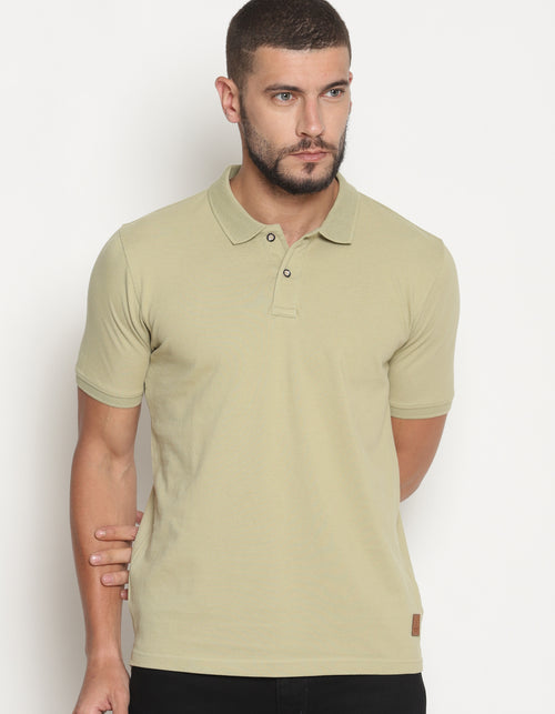 Men's Sage Green Pastel Edition Polo T-Shirt