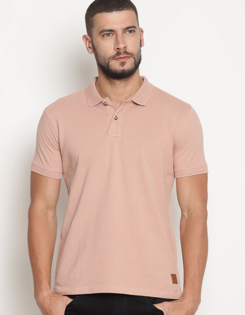 Men's Mahogany Rose Pastel Edition Polo T-Shirt
