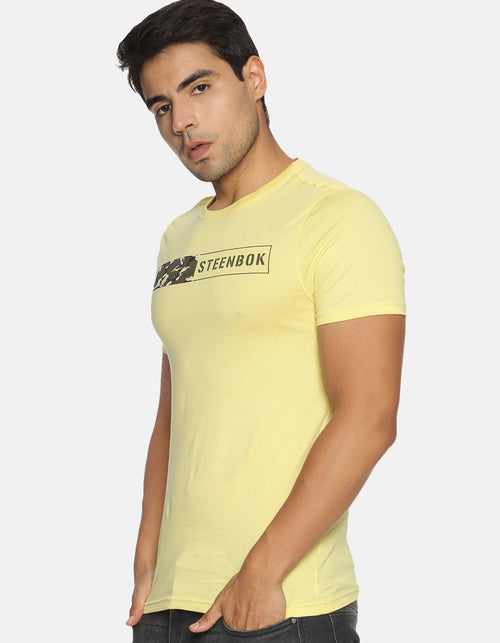 Men's Acid Wash Basic T-shirt