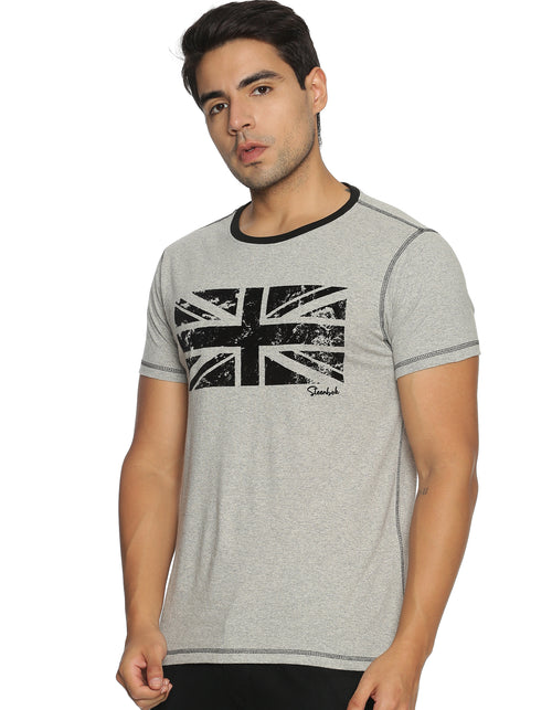 Men's Printed Basic T-Shirt