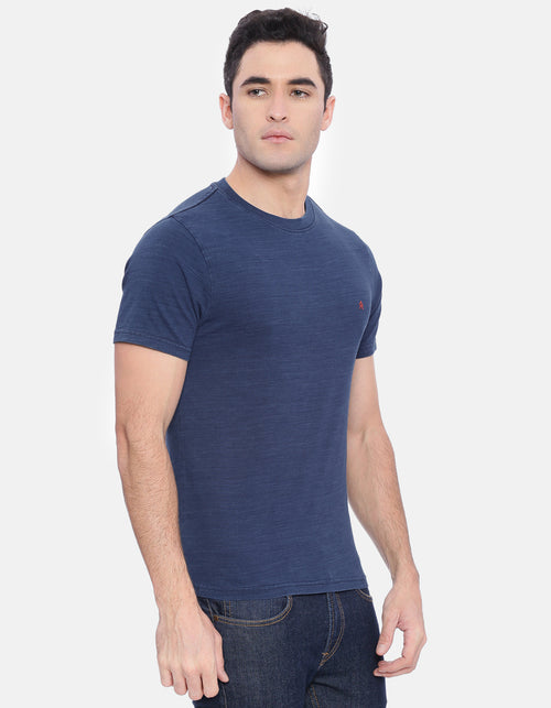 Men's Indigo Crew Neck T-Shirt