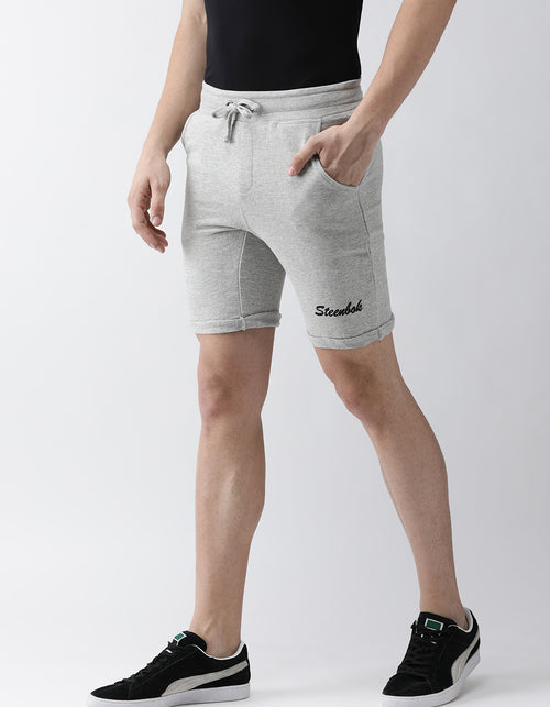 Men's Grey French Terry Shorts