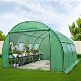 Greenfingers Greenhouse 4X3X2M Garden Shed Green House Polycarbonate Storage