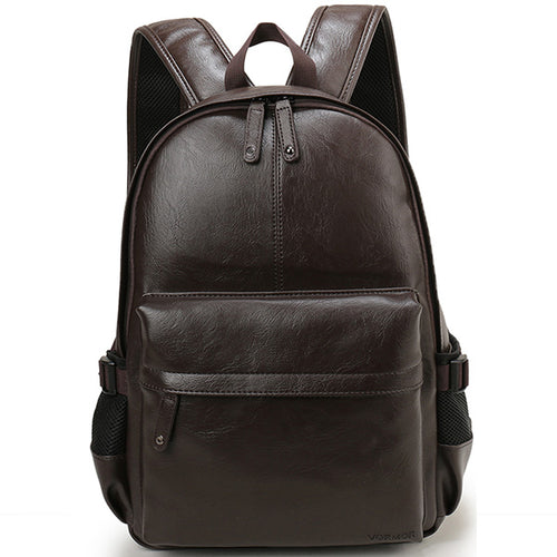 Leather  Backpack - BOLD