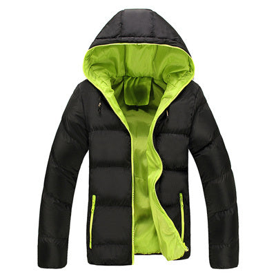 Hooded Thick Padded Jacket