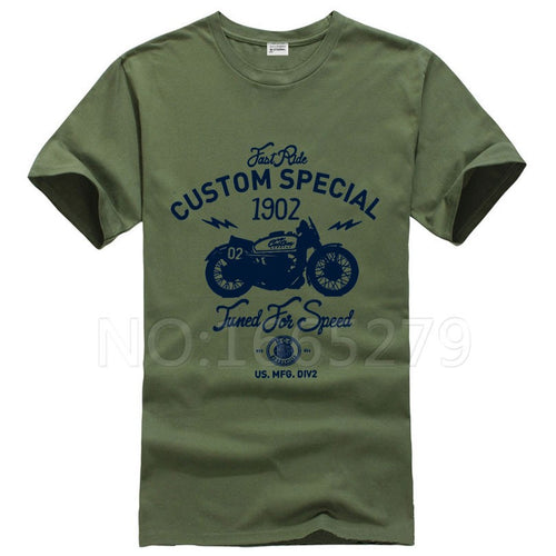 Motorcycle T Shirt - BOLD
