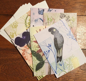 Six pack of Mixed Greeting Cards