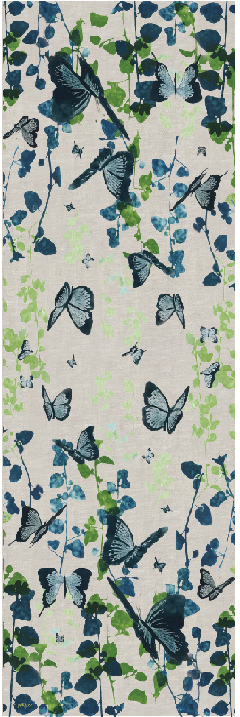 Butterfly Table Runner (wide)