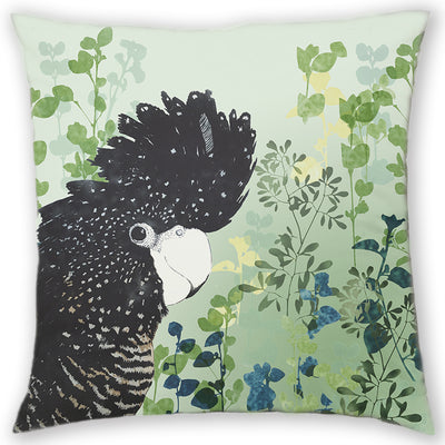 cushion, cushion cover, homewares, cheeky cockatoo