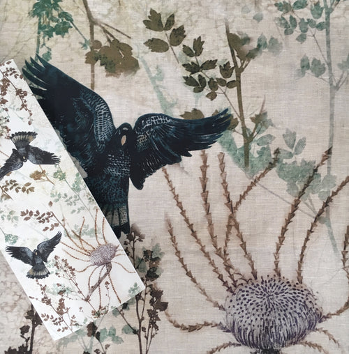 Black Cockatoo Table Runner (wide)