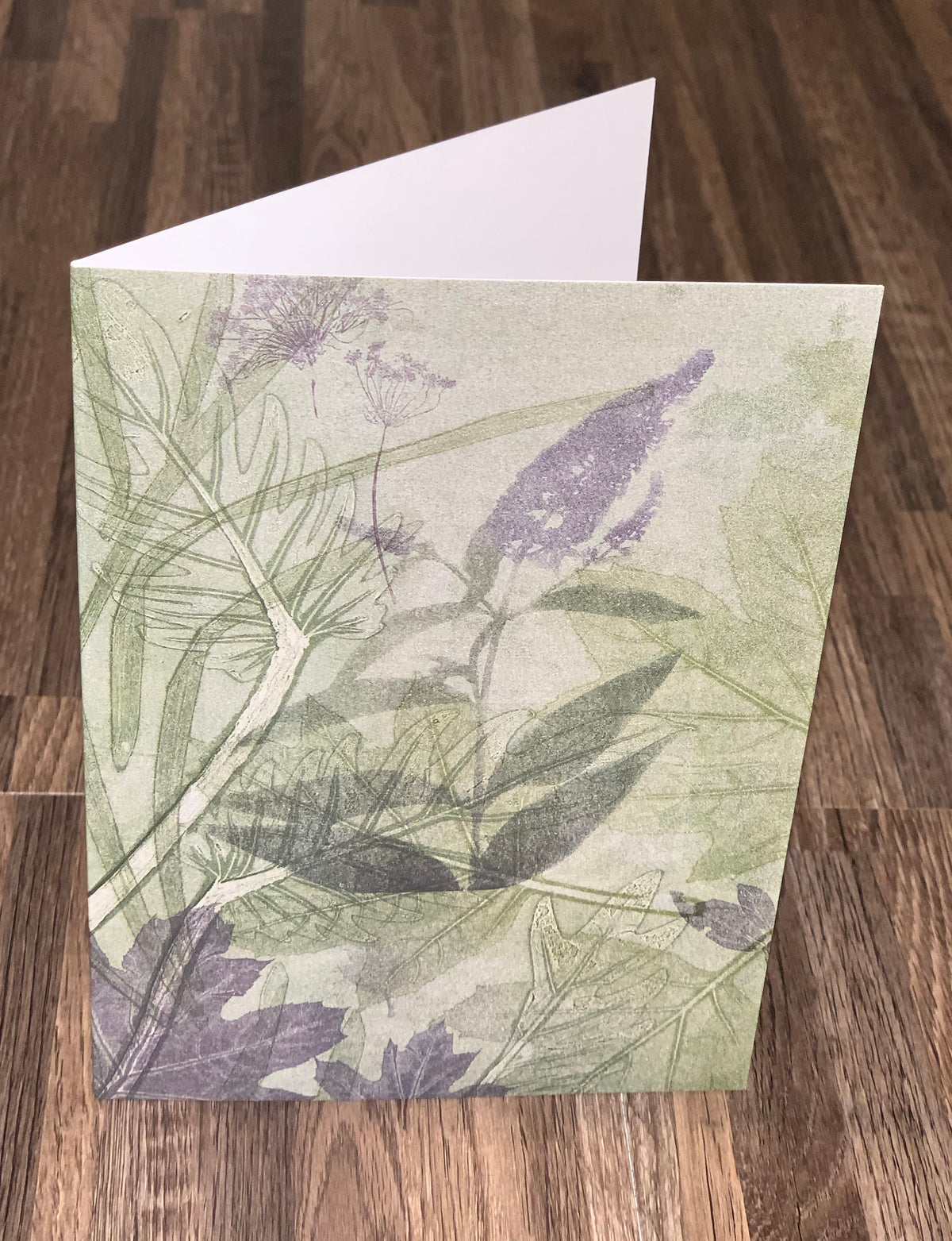 Greeting Card 'Echium Flower in my Garden'