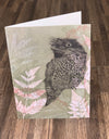 Greeting Card 'Tawny Frog Mouth'