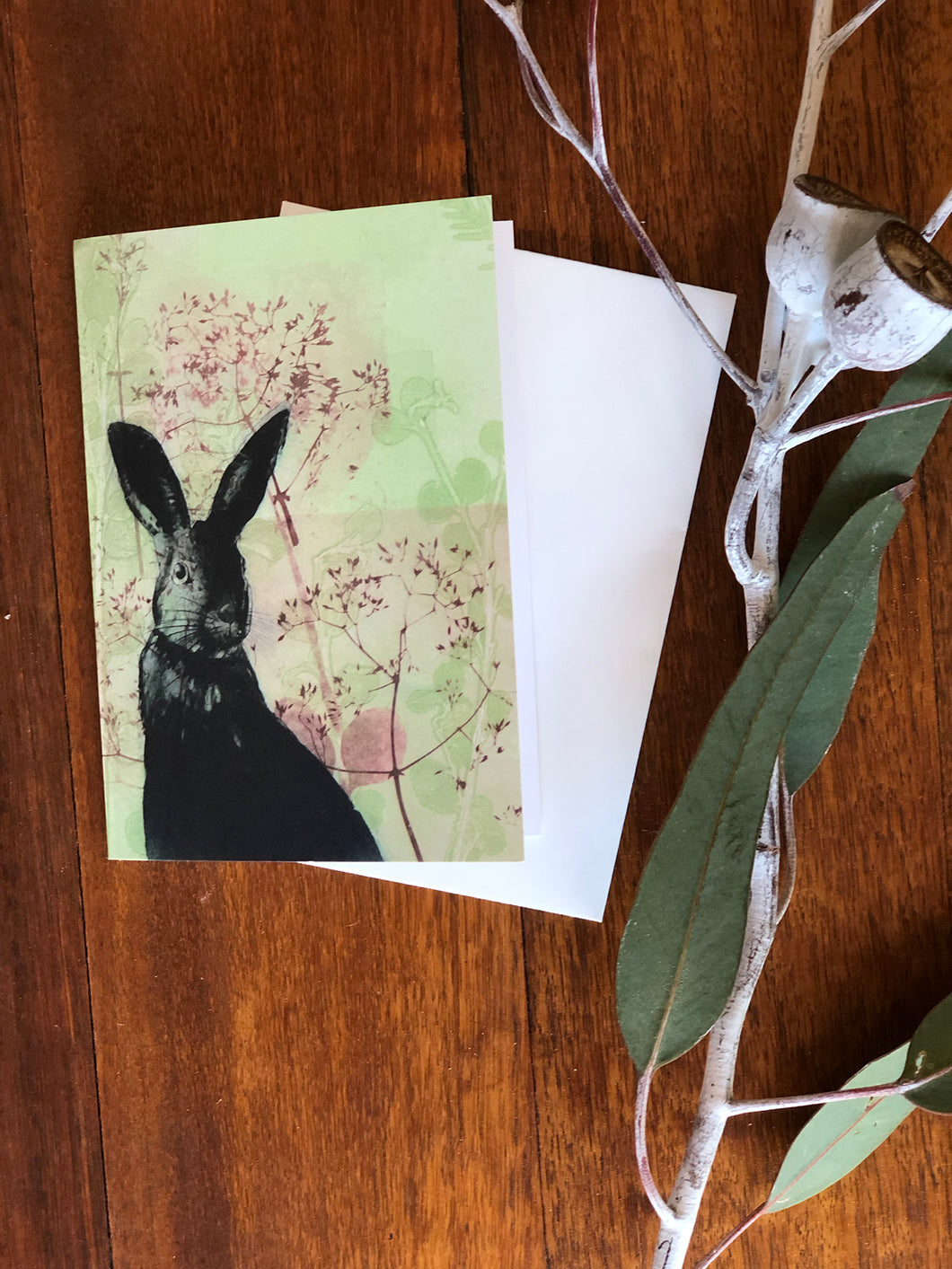 Cheeky Rabbit Greeting Card