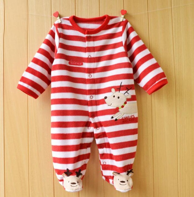 138b134a4 2017 Baby Rompers Newborn Baby Clothes Long Sleeve Animal Cute Boy ...