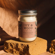 Ivy & Wood Botanical Candle Collection - Bosque