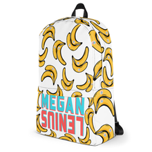 Megan Lenius Banana Backpack