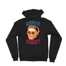 Megan's Skull Zip Up Hoodie sweater