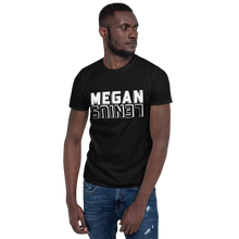 Megan Lenius Unisex T-Shirt White logo