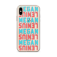 Megan Lenius iPhone Case