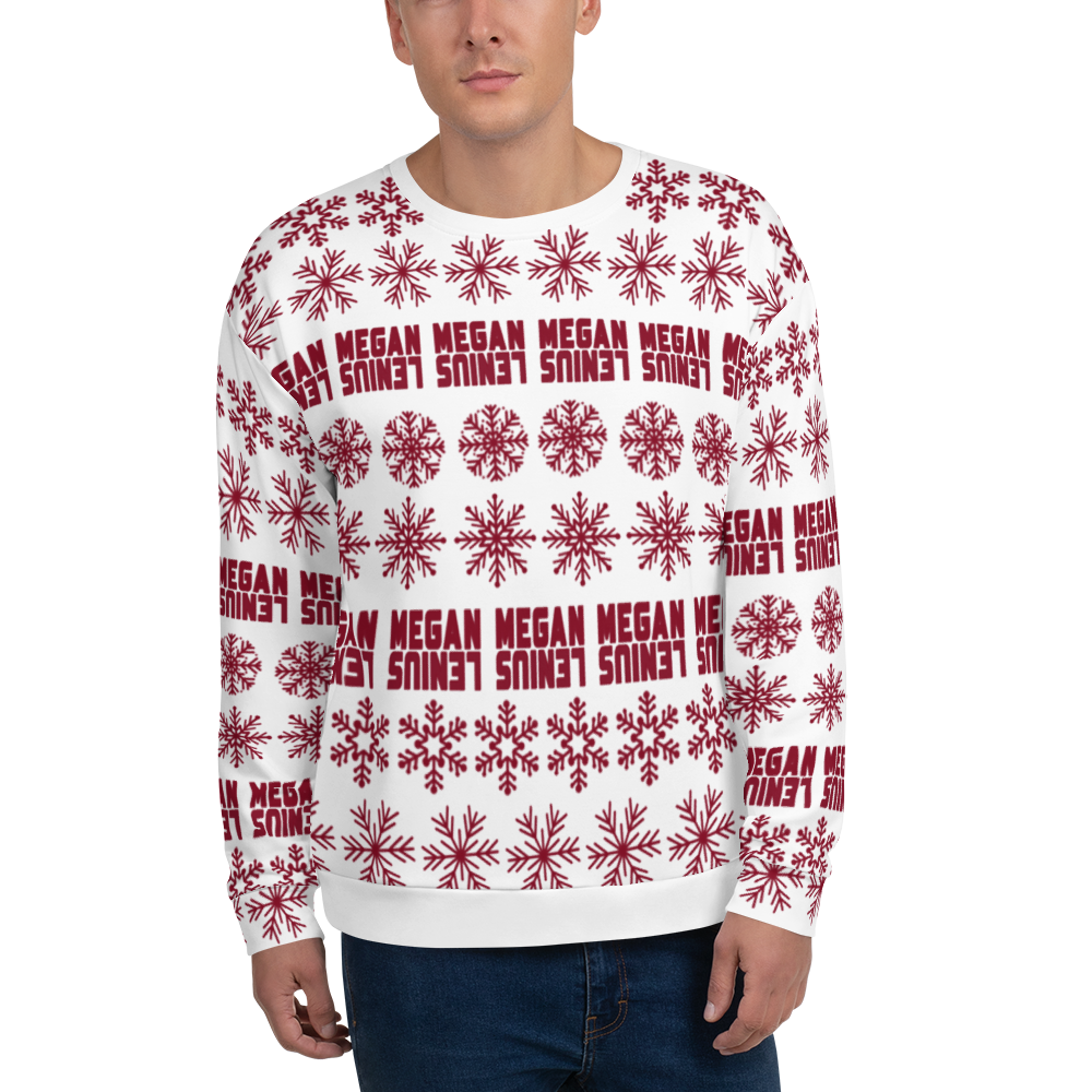 Megan Lenius Snowflake Sweater