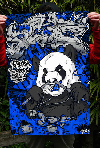 Chill Panda (Limited Blue edition)