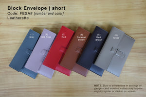 Block Envelope Short for Sale | Belleza