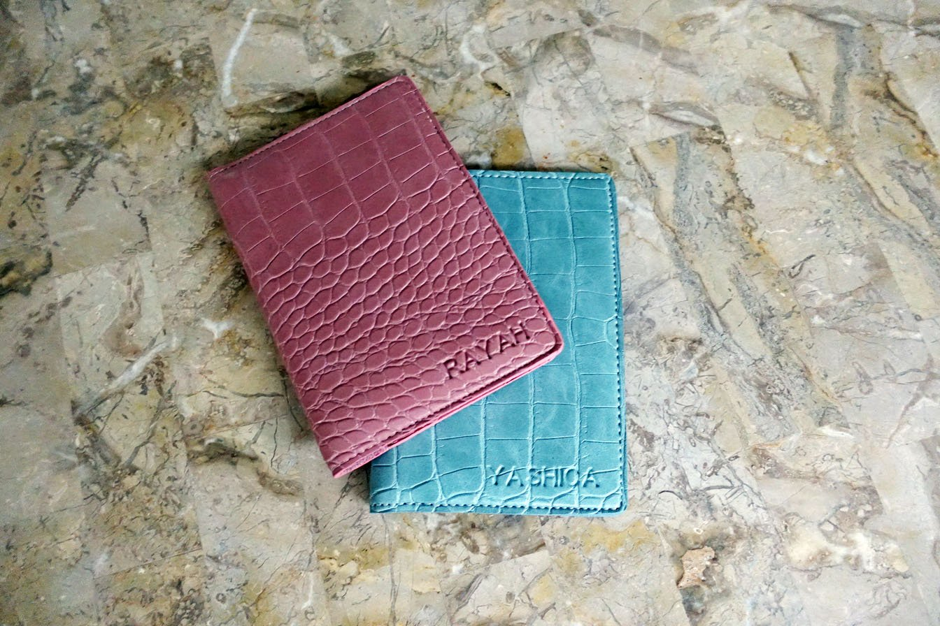 Stark Series Passport Holder | Belleza