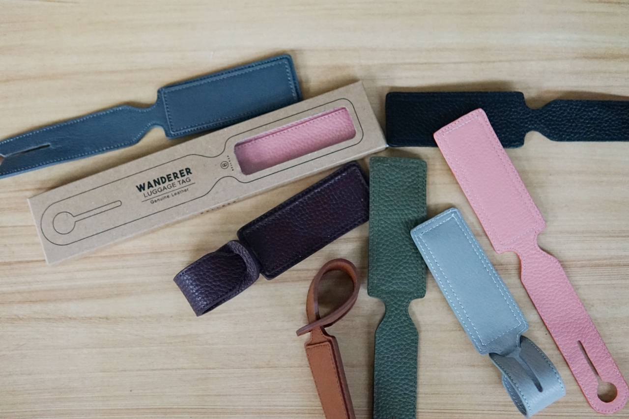Wanderer Genuine Leather Luggage Tag for Sale | Belleza