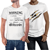 Bitcoin T-Shirts for Men