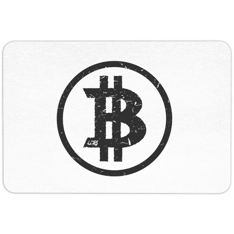 Bitcoin Basics Floormat - Light - URBitcoinwear Bitcoin Fashion Store