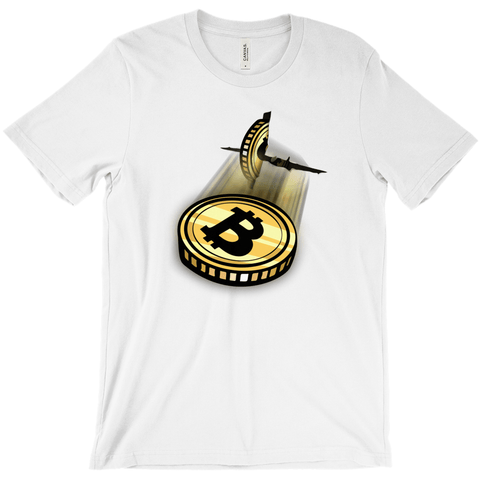 Bitcoin Breakout T-Shirt - URBitcoinwear Bitcoin Fashion Store