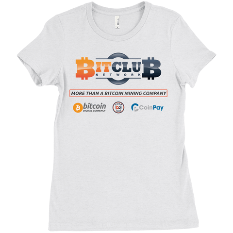 Bitclub Network - Women's Basic Shirt - URBitcoinwear Bitcoin Fashion Store