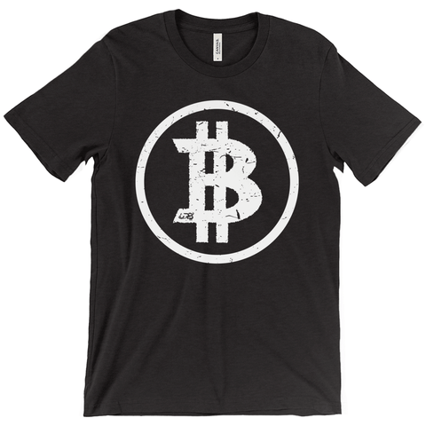 Basic Bitcoin Triblend Shirt - URBitcoinwear Bitcoin Fashion Store